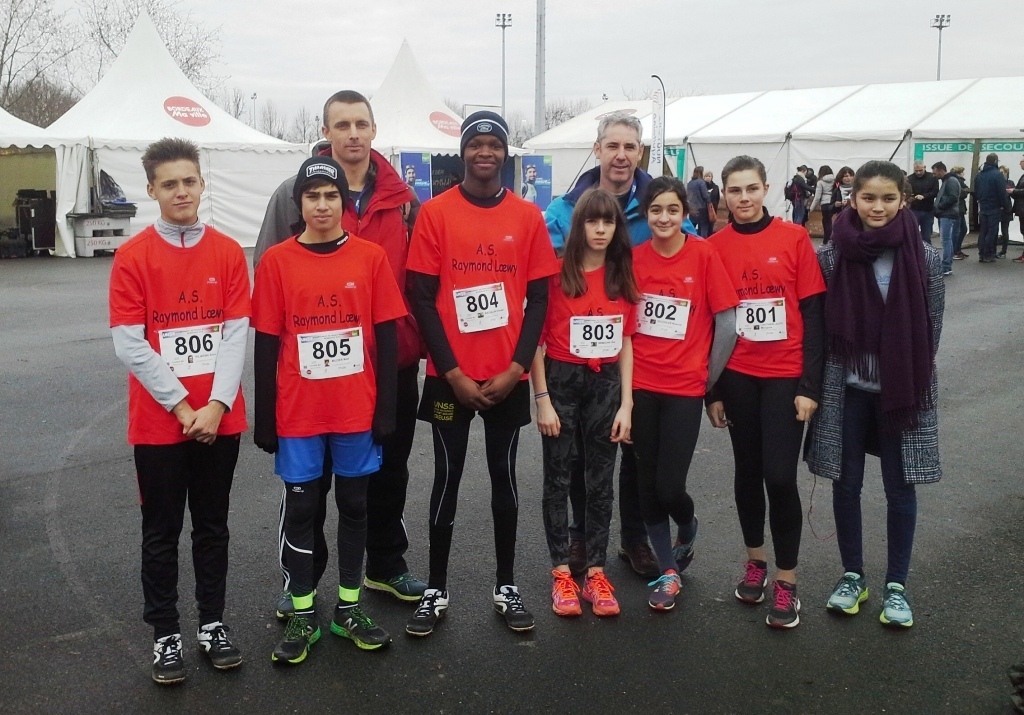 Nos athlètes aux France de cross country 2019