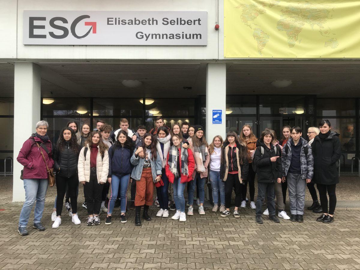 Arrivée à Filderstadt